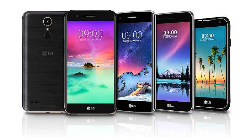 LG 2017 K-Series Smartphones Set to Launch in India on Wednesday
