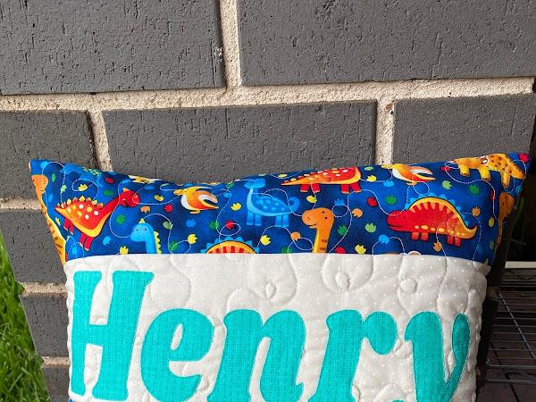Name Pillows