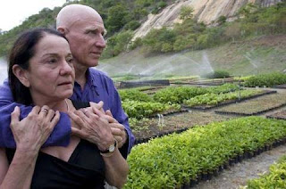 The couple made the dessert  into green Forest by 20 years