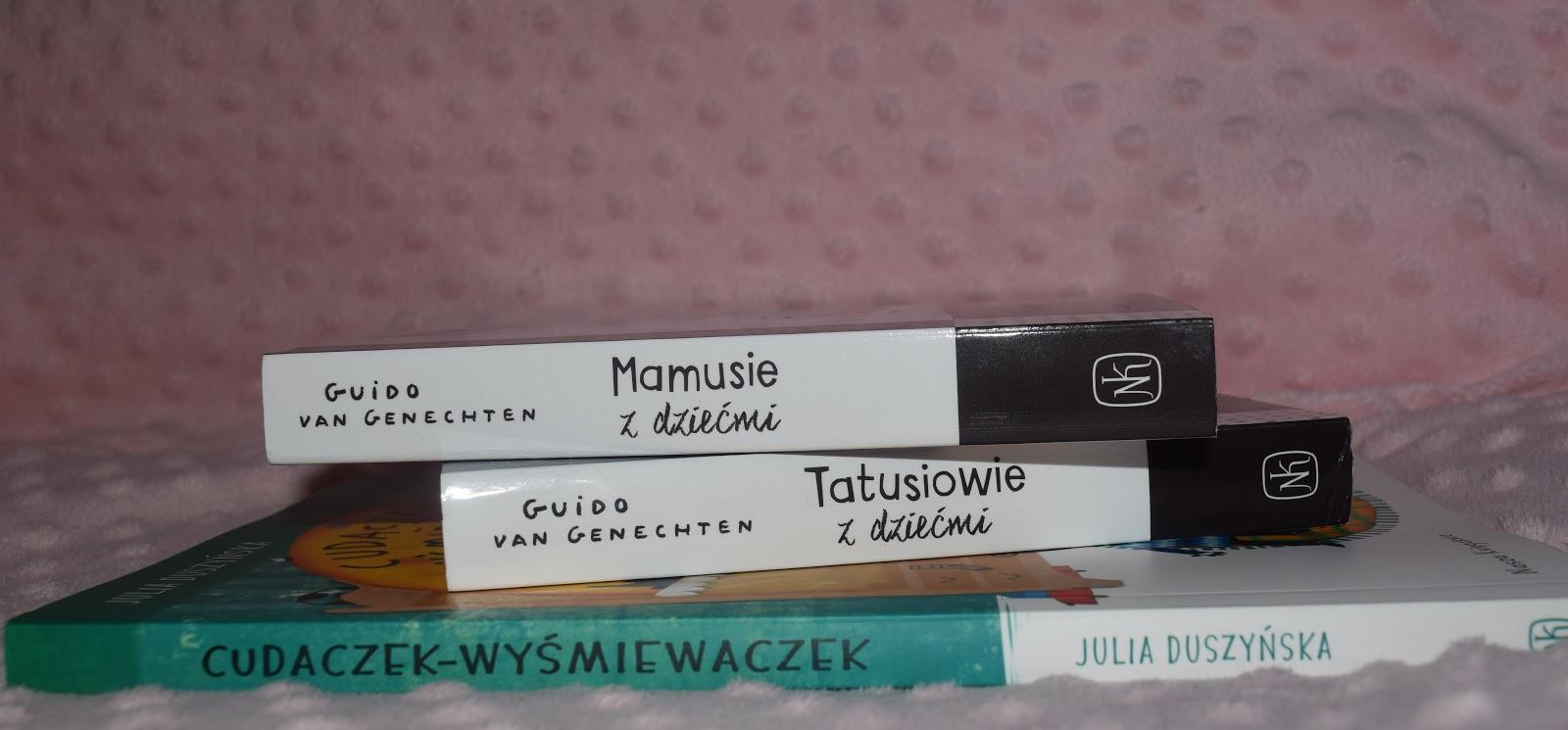 Cudaczek Wyśmiewaczek i Mamusie/Tatusiowie z dziećmi z wydawnictwa Nasza Księgarnia
