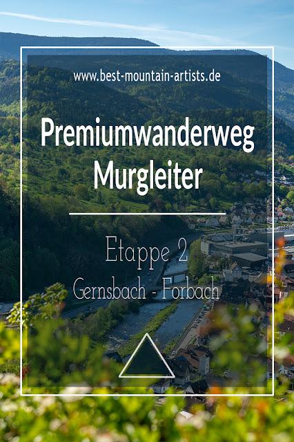 Premiumwanderweg Murgleiter | Etappe 2 von Gernsbach nach Forbach | Wandern nördlicher Schwarzwald 15