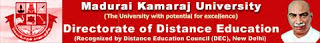Madurai Kamaraj University Results 2014 www.mkudde.org MKU MBA B.Com Distance Education