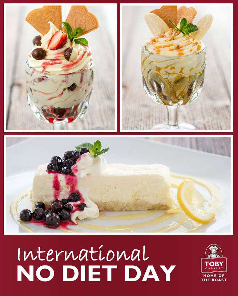 International No Diet Day Wishes Images