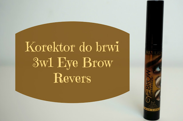 RECENZJA: Korektor do brwi 3w1 EYE BROW | Revers