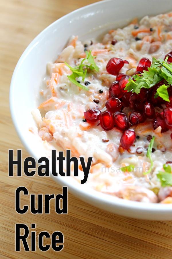 healthy curd rice