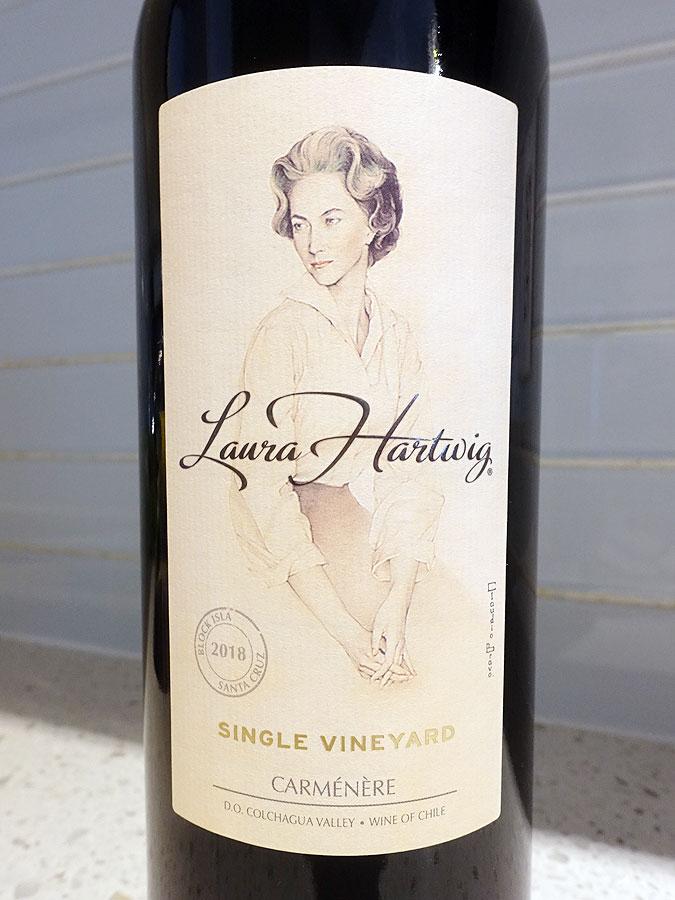 Laura Hartwig Single Vineyard Carmenère 2018