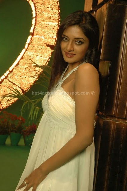 Vimala raman sexy in white dress