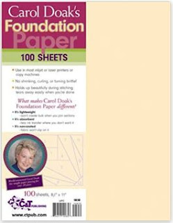 Carol Doak's Foundation Paper