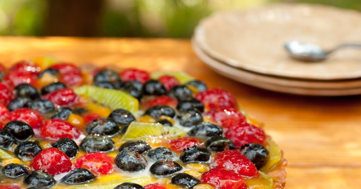 Tarta z owocami II
