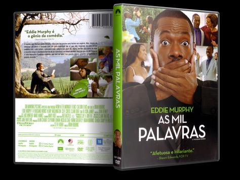Capa DVD As Mil Palavras (Oficial)
