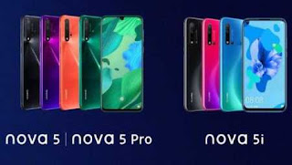 Spesifikasi Huawei Nova 5i Pro dengan Chipset Kirin 810