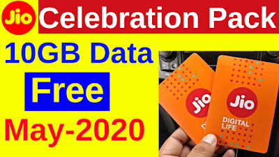 Jio Celebration Pack May-2020