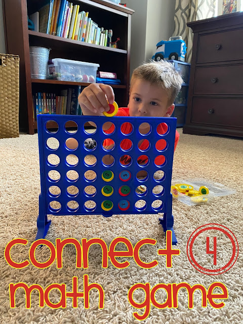 Connect Four math game