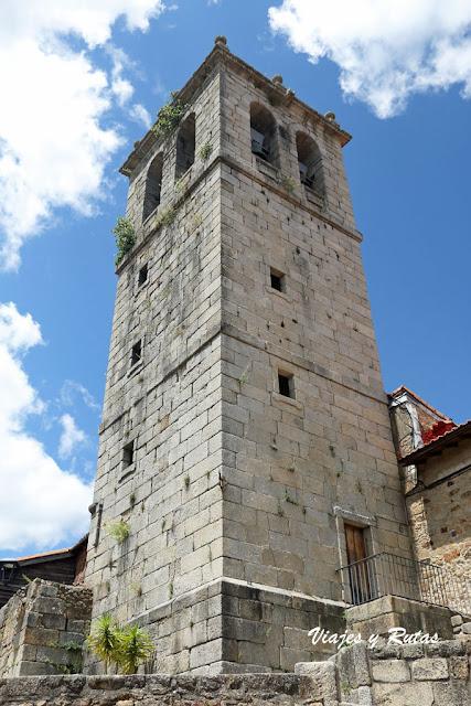 Torre de la iglesia, Miranda del Castañar