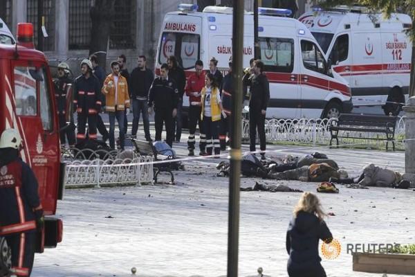 serangan di istanbul