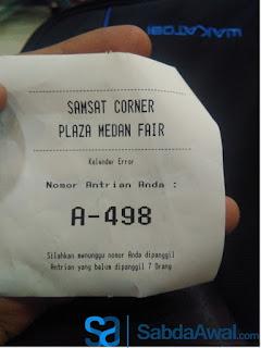 Pembayaran Pajak Kendaraan Bermotor Di Samsat Corner Medan