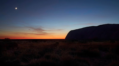 Uluru at Sunrise (c) 2020 by David Ourisman, all rights reserved