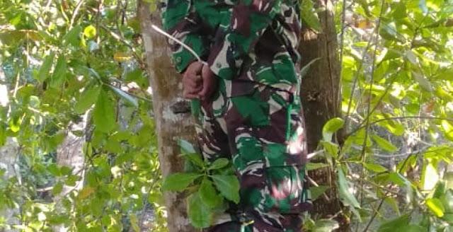 TNI AD Ikut Usut Kematian Anak Buah yang Mayatnya Digantung di Pohon