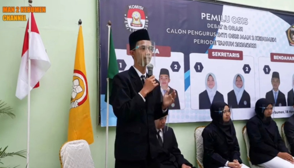 Cucu Pendiri Terpilih Jadi Ketua OSIS MAN 2 Kebumen