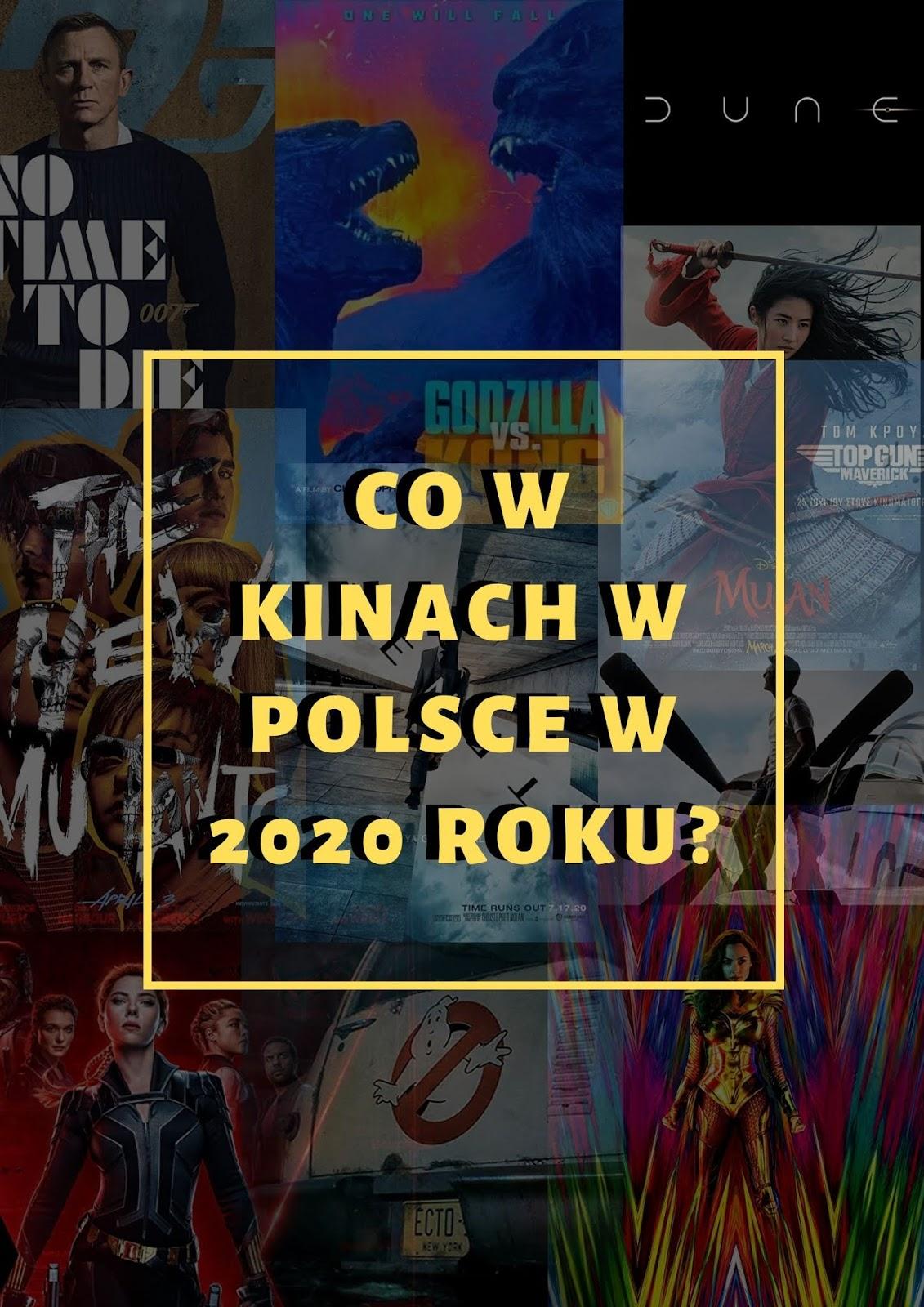 Co w kinach w Polsce w 2020 roku?