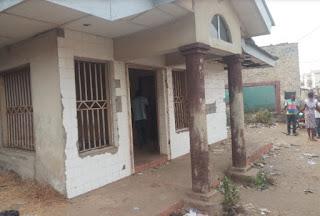 Ritualist den in Ibadan