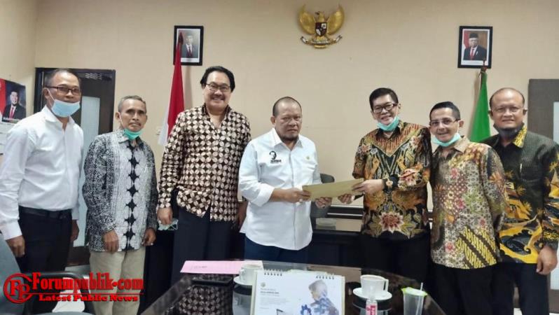 Pelaku Bisnis Kepelabuhanan di Tanjung Perak Sampaikan Keluhan pada Ketua DPD RI