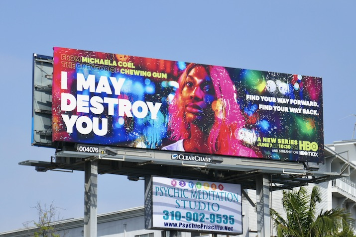 I May Destroy You series launch billboard