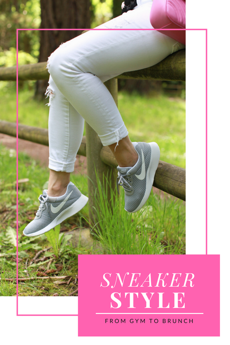 How to wear sneakers from the gym to every day casual