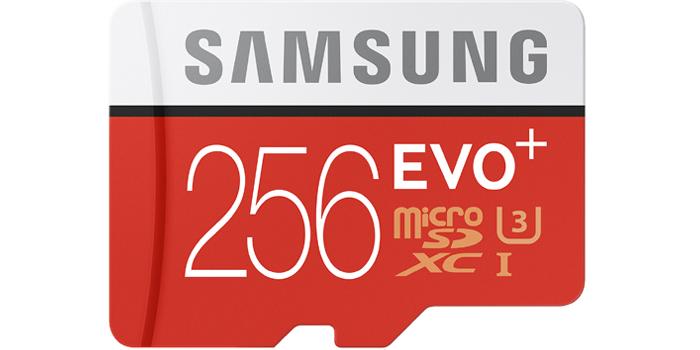 サムスンEVO Plus 256GB microSDXCカードの特徴・メリット・買うべき理由