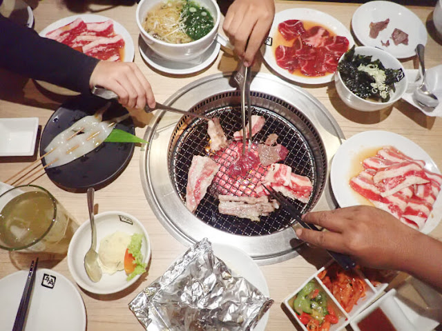 gyu kaku, japanese bbq, all you can eat, mall kelapa gading