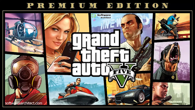GTA(Grand Theft Auto) 5 Premium Online Edition