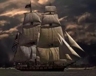 Vanished ship