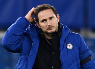 Football: Frank Lampard shown the door