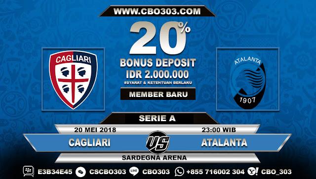Prediksi Bola Cagliari VS Atalanta 20 Mei 2018
