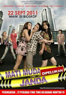 Download film Mati Muda Dipelukan Janda (2011) DVDRip Gratis