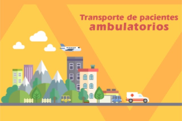 ¿En qué casos una EPS debe cubrir el transporte de pacientes ambulatorios?