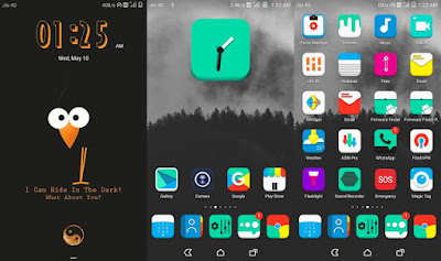 Huawei Themes : Dark Star Theme For EMUI 4 / 5
