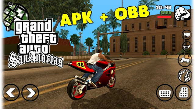 Download GTA SA Lite Android Mod Apk Obb Data