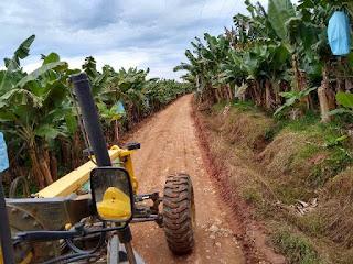 Estradas Rurais de Jacupiranga passam por manutenção