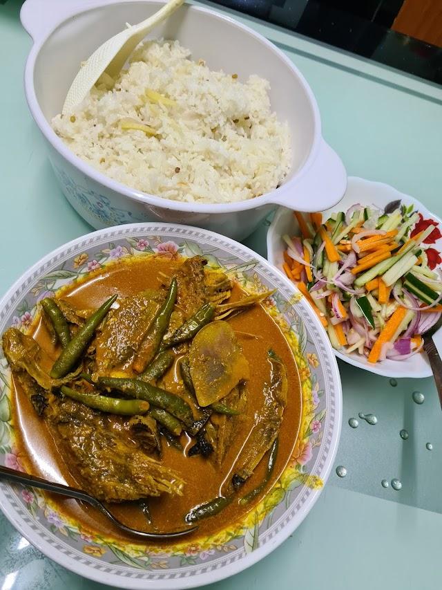 Pertama Kali Masak Nasi Dagang Versi Johor
