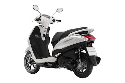 2016 Yamaha Acruzo 125cc rear view HD
