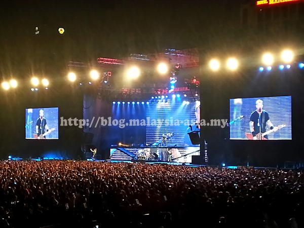 Malaysia Metallica Live Photos
