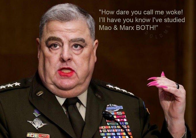 General Milley Is A Traitor, Made Contacts With The Chinese Behind President Trump's Back...