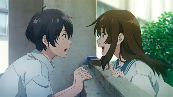 Sing A Bit Of Harmony (Ai no Utagoe o Kikasete) anime film