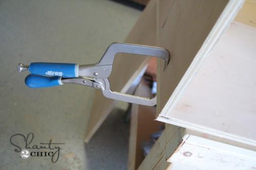 Click To Buy Clamp- DIY Desk Nightstand
