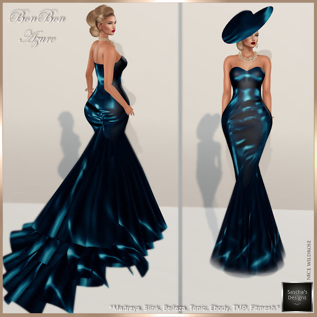 SASCHA'S DESIGNS - BonBon Gowns (Mesh Bodies & Fitmesh)