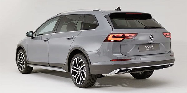 2021 vw golf alltrack: more pictures. - car on repiyu