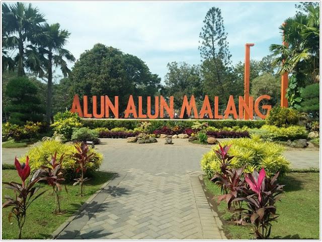 Alun-alun Kota Malang;10 Top Destinasi Wisata Malang;