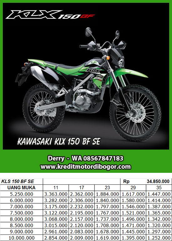 Kredit Motor Kawasaki KLX 150 BF SE di Bogor