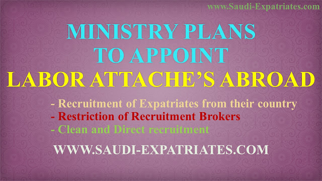 SAUDI LABOR ATTACHE'S IN VARIOUS COUNTRIES